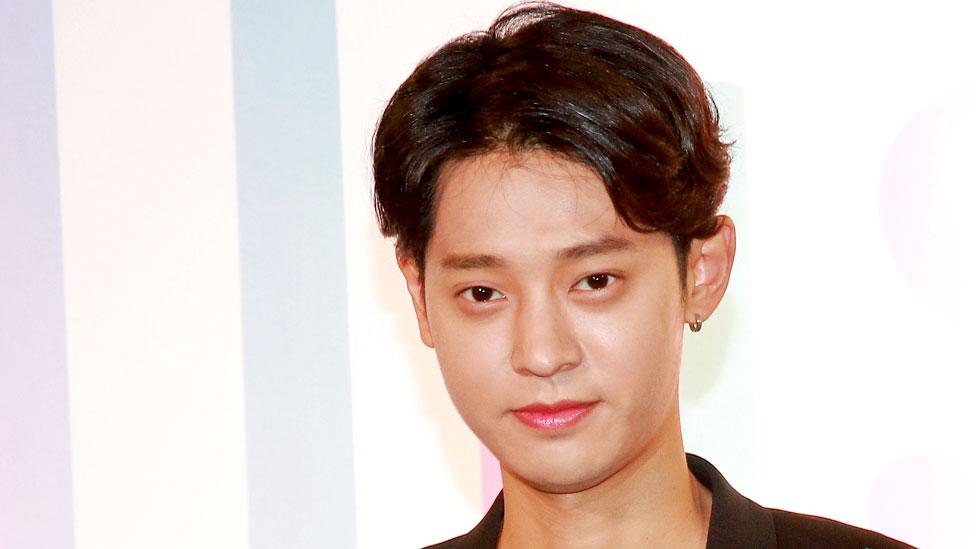 Jung Joon-young fotografiado en 2017.