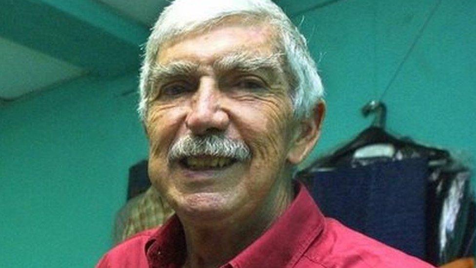 Luis Posada Carriles in 2003 in Panama.