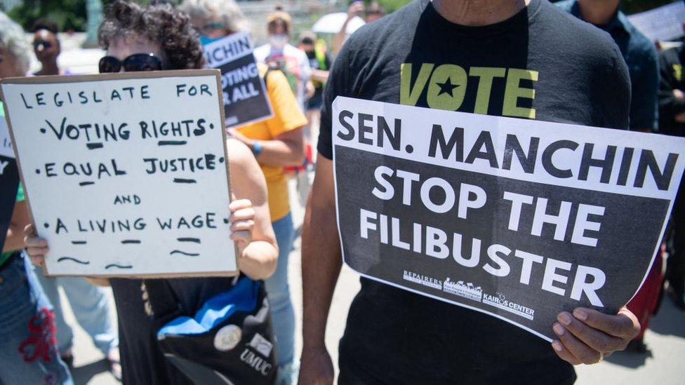 Manifestación frente al Congreso de EE.UU.