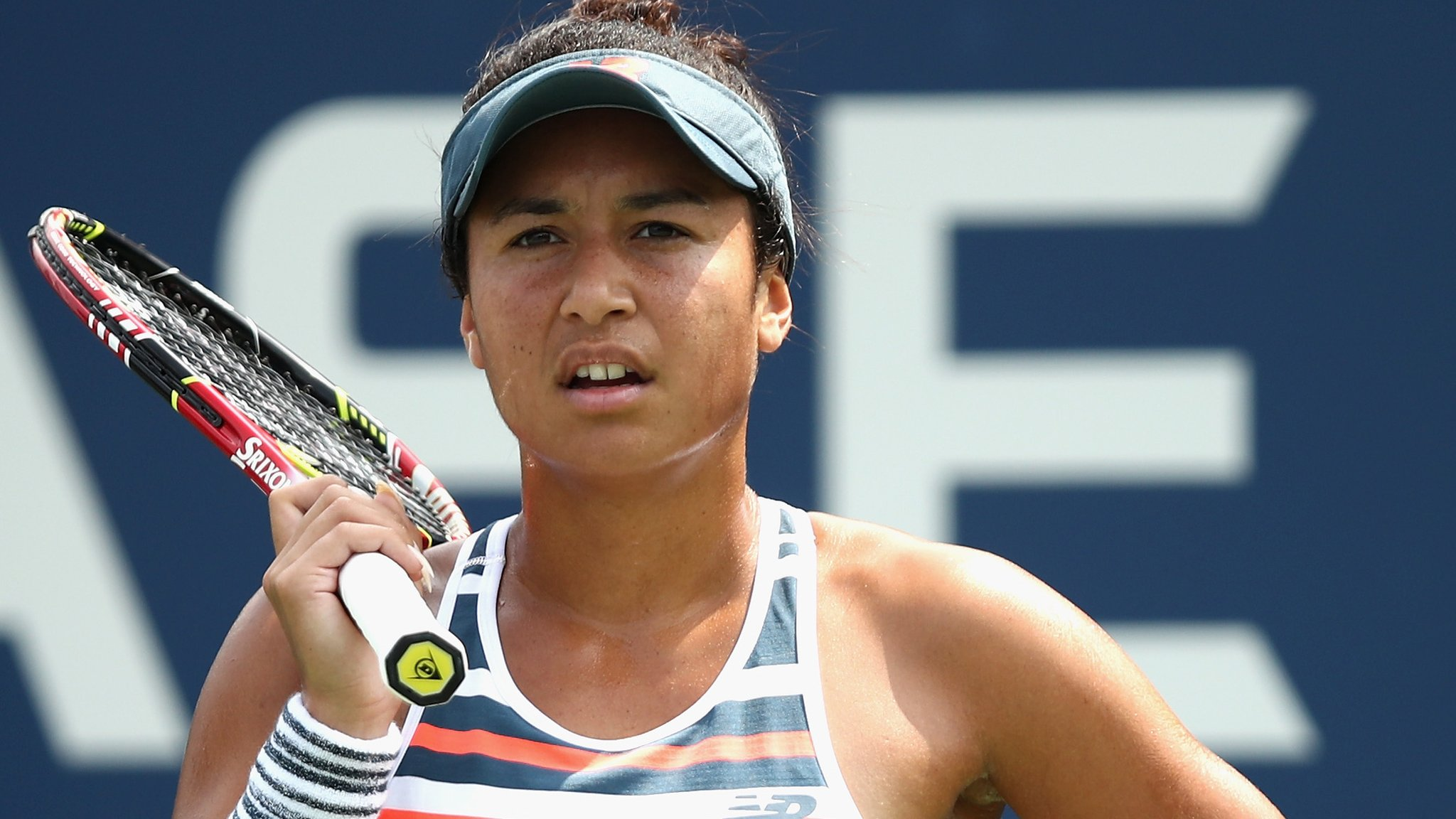 Heather Watson beaten by Pauline Parmentier in Quebec semi-finals