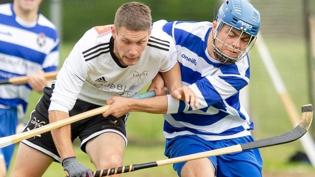 Tulloch Camanachd Cup: Ewen Fraser double as Newtonmore beat Lovat