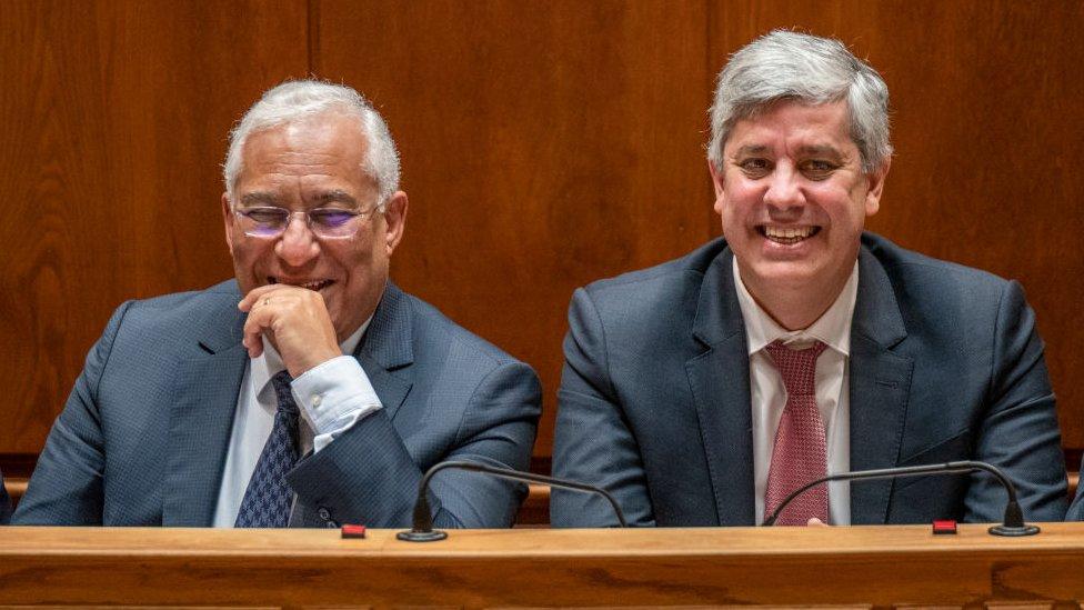 António Costa y Mário Centeno.