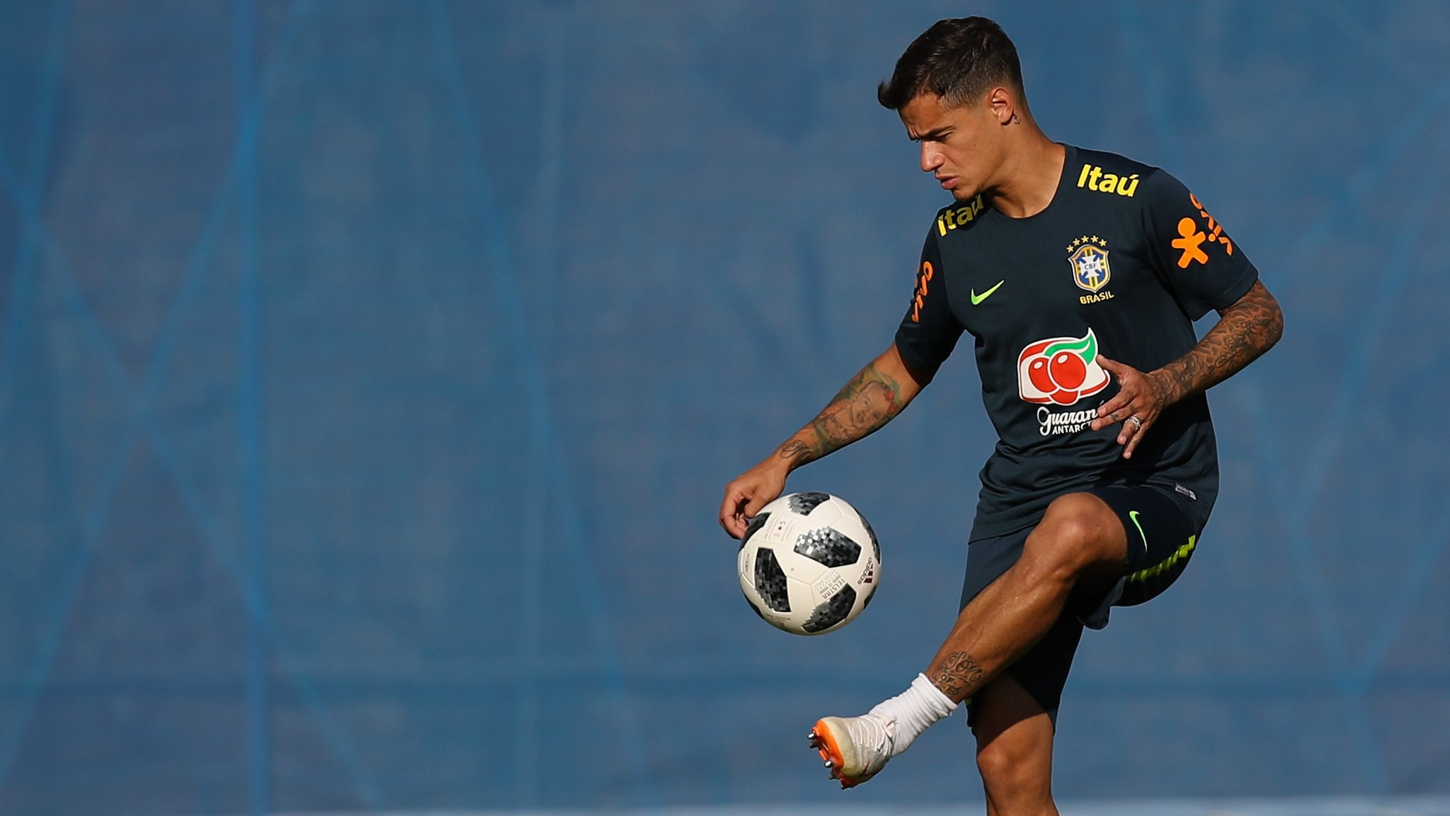 Brazil's Neymar fit for Costa Rica match