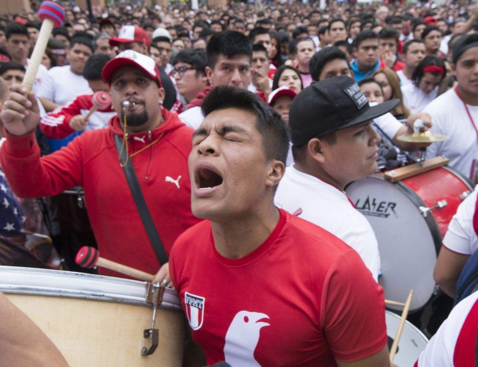 Peruanos en Lima