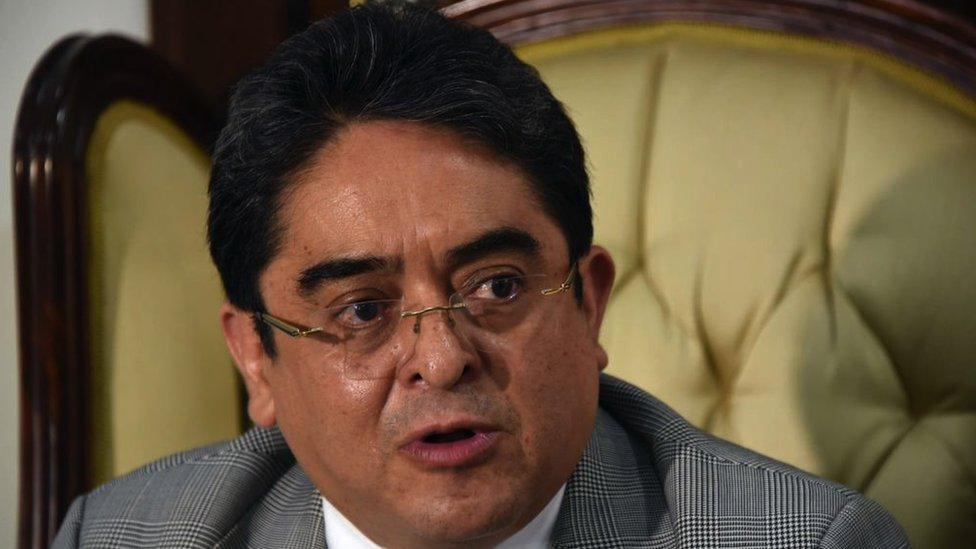 Jordán Rodas es el procurador de Derechos Humanos de Guatemala.