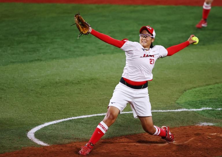 Final de sóftbol de los Juegos Olímpicos de Tokyo 2020 entre Japón y Estados Unidos.