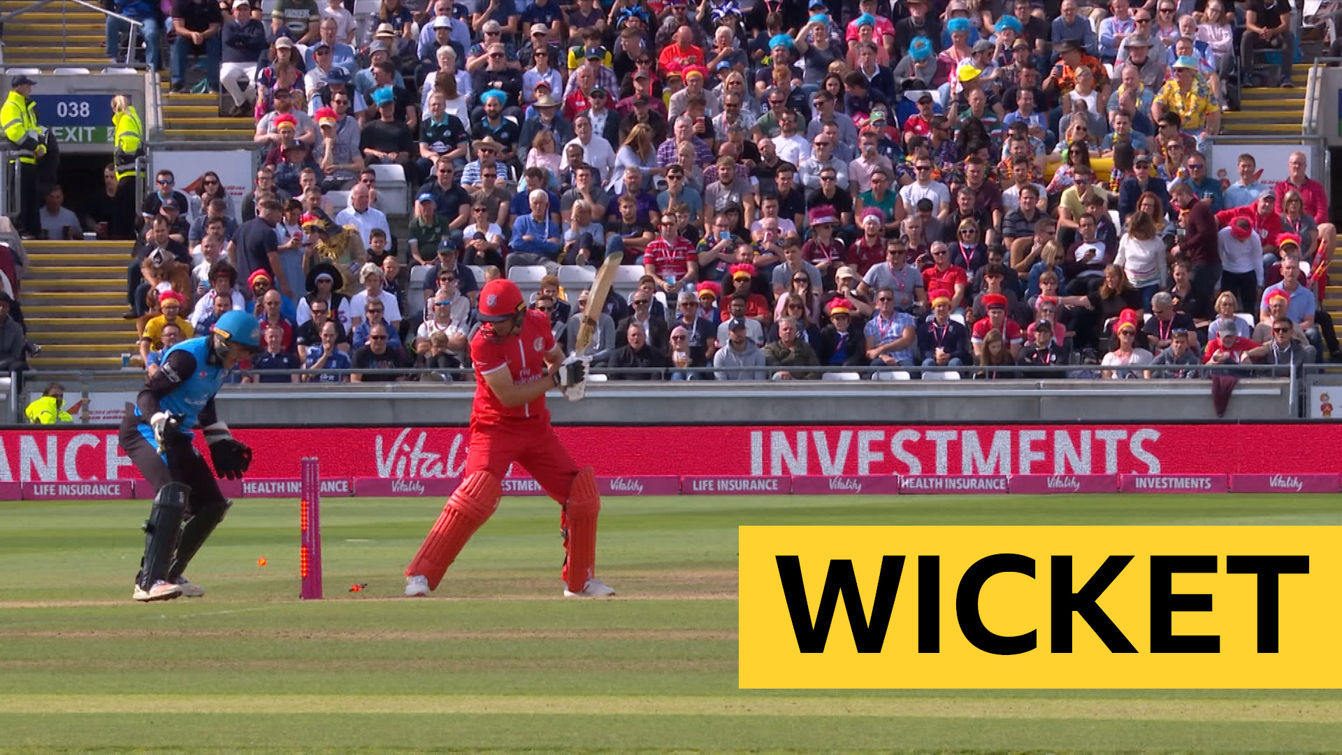 T20 Blast finals day: Jos Buttler bowled by Moeen Ali