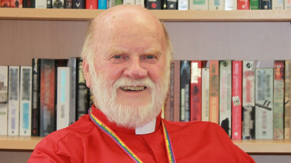 Stonewall 100: University chaplain named gay role model of the year