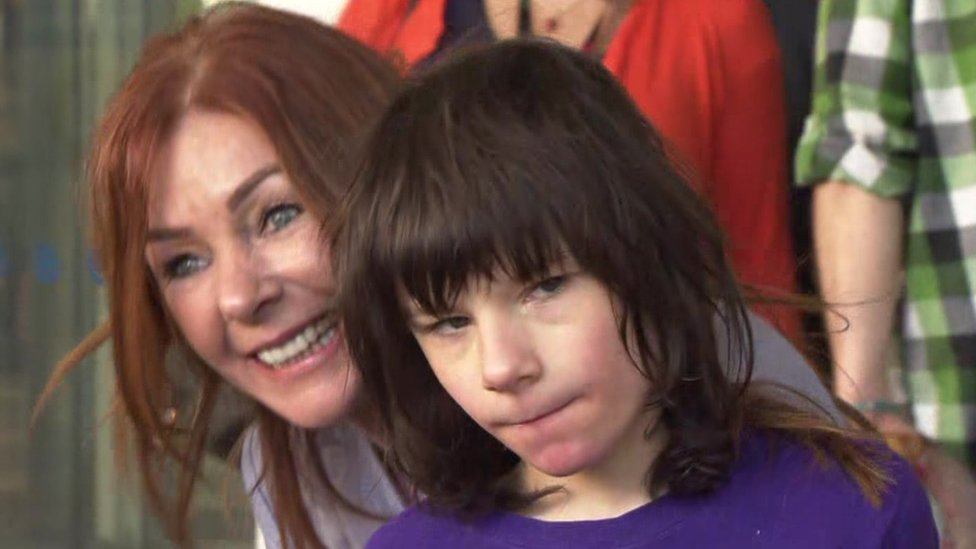 Cannabis oil row: Billy Caldwell discharged from hospital