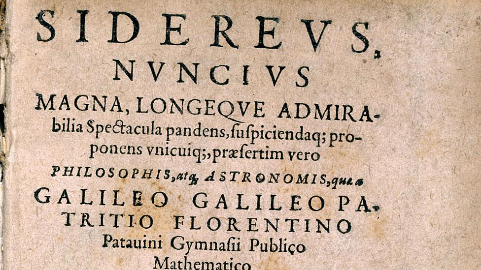 Sidereus Nuncius