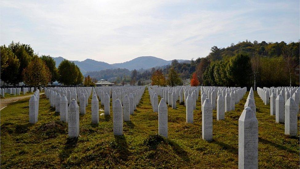 Spomen groblje žrtvama Srebrenice