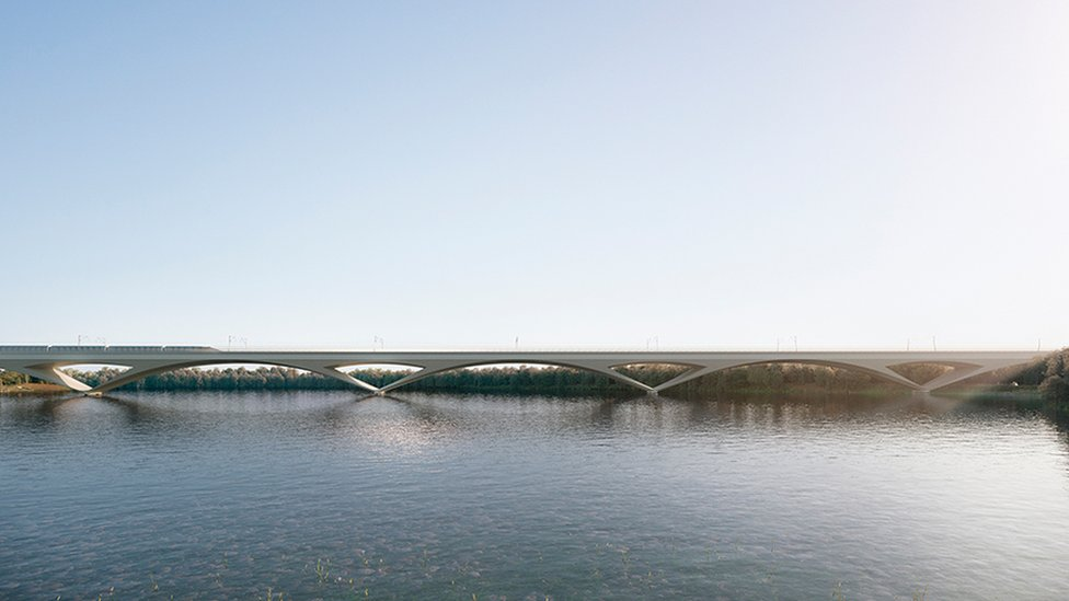 Colne Valley viaduct design