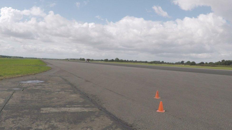 Fields near Elvington Airfield