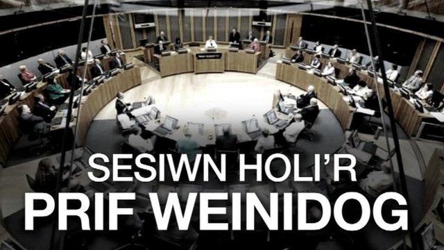 Sesiwn Holi'r Prif Weinidog