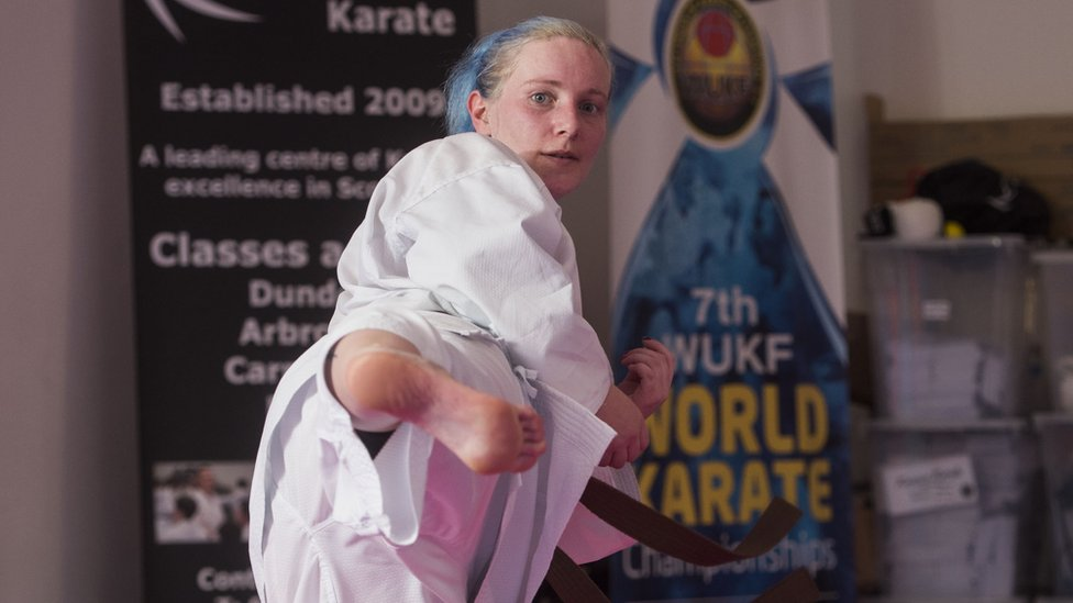 Forfar karate-kicking woman sees attackers jailed
