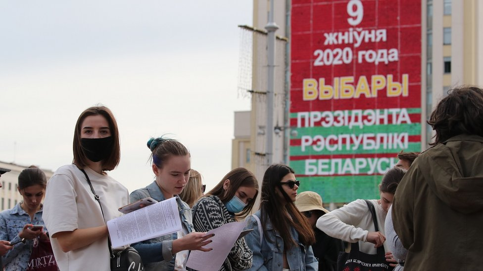 Izbori u Belorusiji