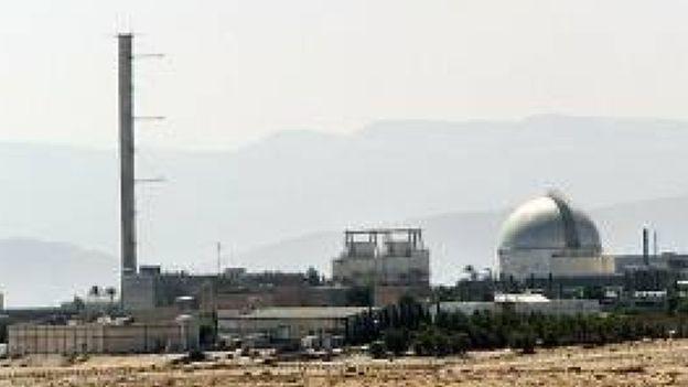 مفاعل ديمونة النووي