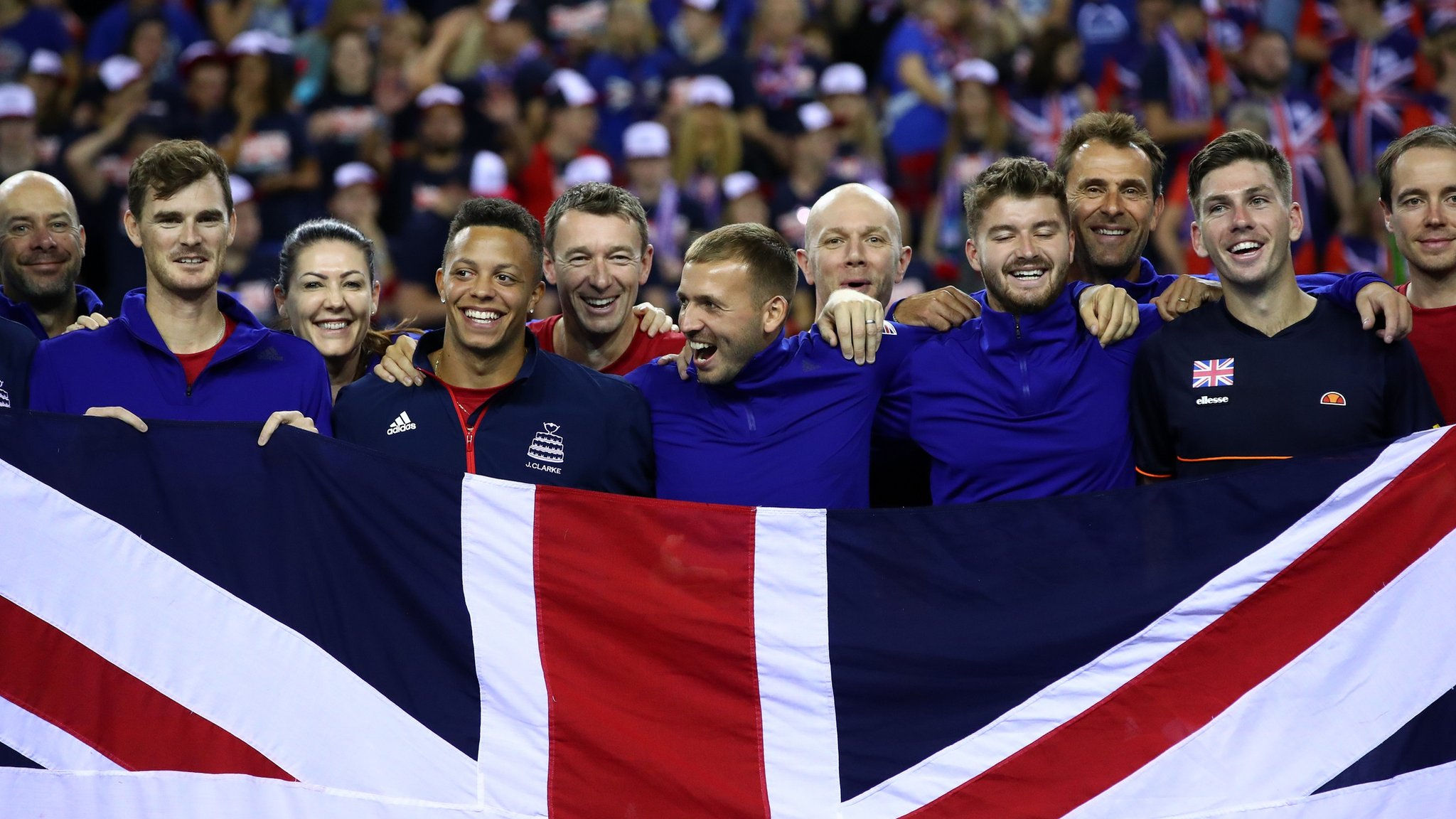 GB drawn with Kazakhstan & Netherlands in Davis Cup finals