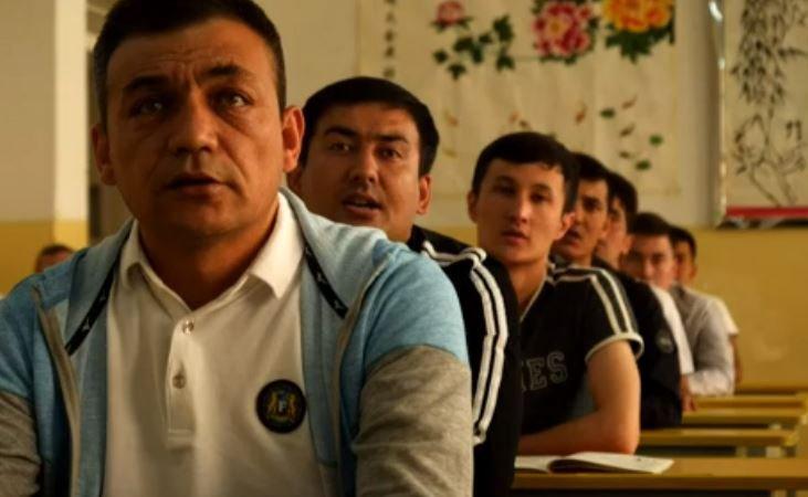 Çin'in Sincan Uygur Özerk Bölgesi'nde 'eğitim kampı' adın verdiği merkezlerden biri