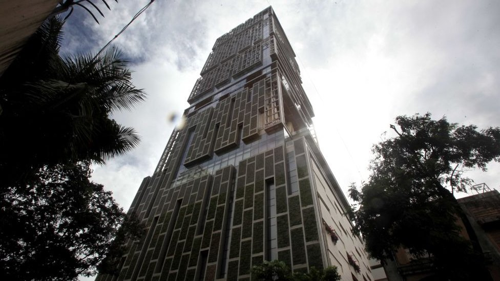 Ambani's $1 billion home in Mumbai