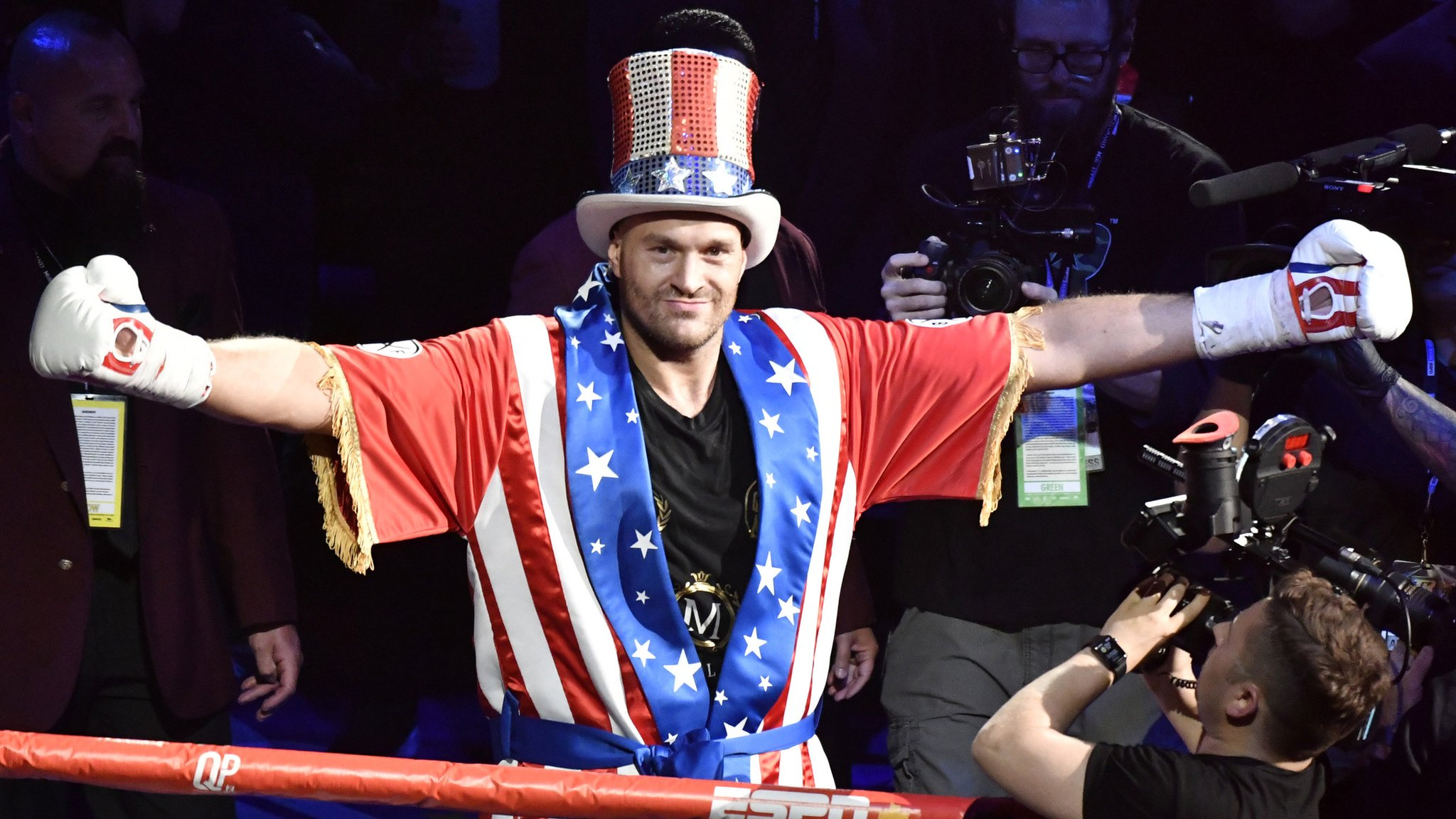 We might get golden heavyweight period - Bunce on Fury