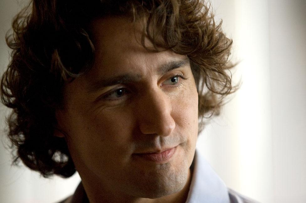 Justin Trudeau in 2011