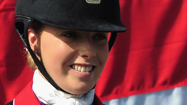 Sophie Wells wins Para-dressage gold at World Equestrian Games