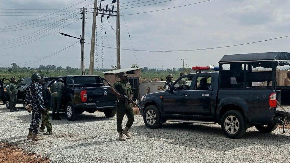 قوات شرطة نيجيرية