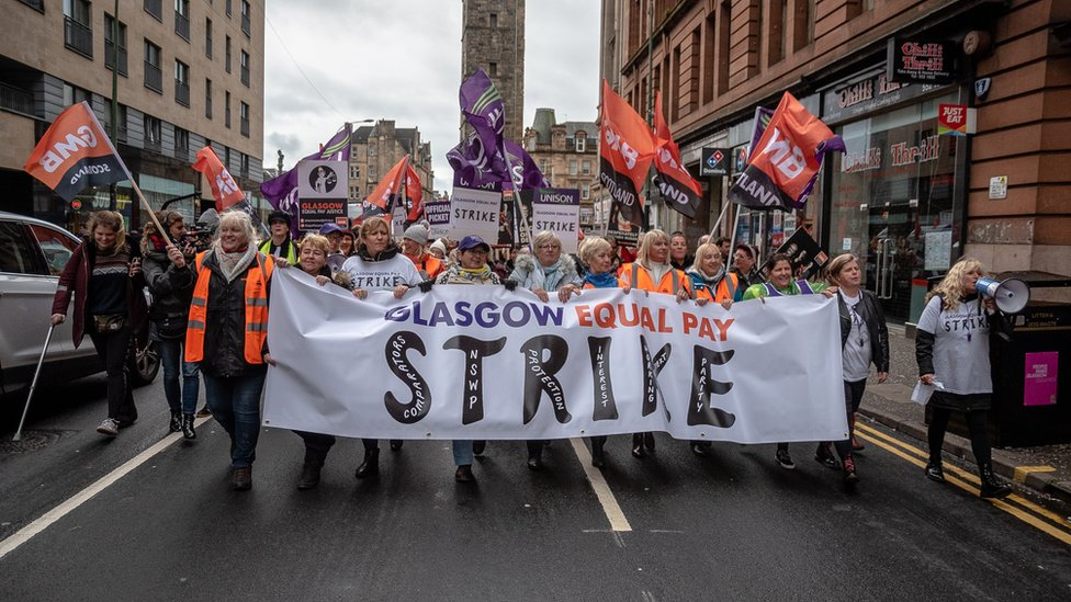 'Tough choices ahead' after Glasgow council equal pay deal