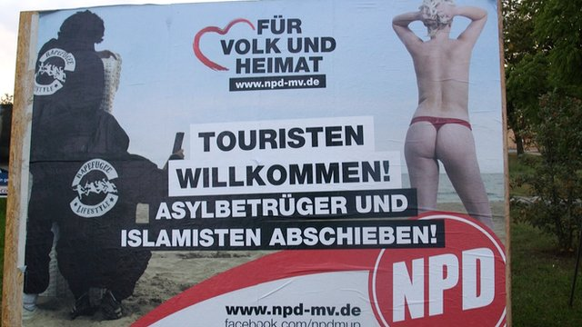 NPD election poster