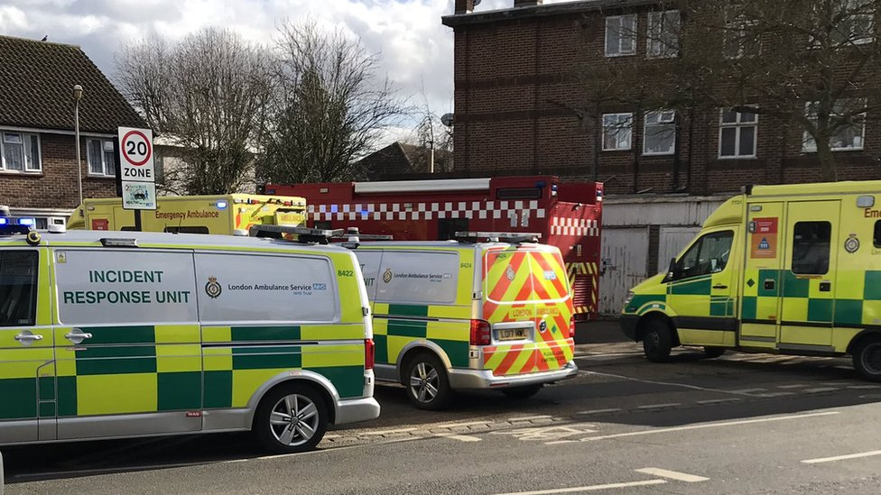 Chingford fire death: Woman held on suspicion of murder