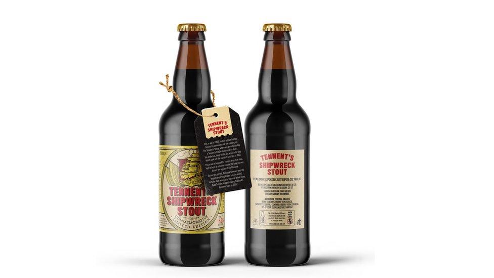 Tennent's commemorative brew