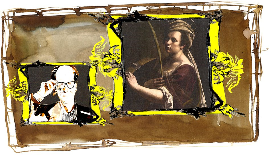 Artemisia Gentileschi self-portrait
