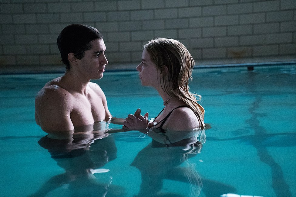 Henry Zaga and Anya Taylor-Joy