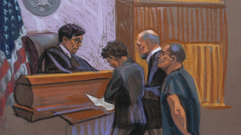 El Chapo Guzman in court