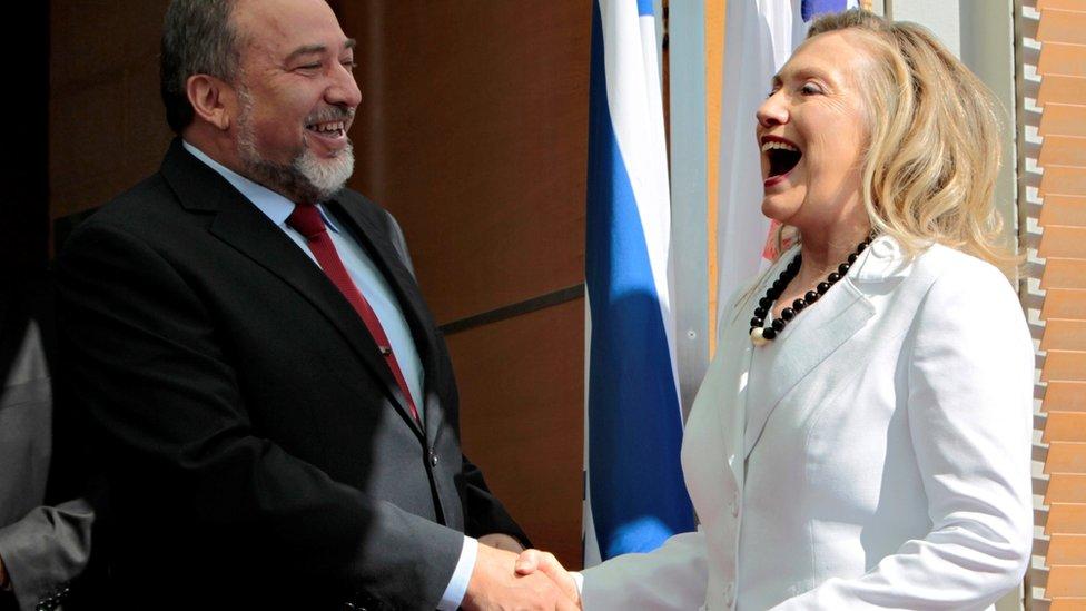 شغل ليبرمان منصب وزير الخارجيه في حكومتين برئاسة نتنياهو