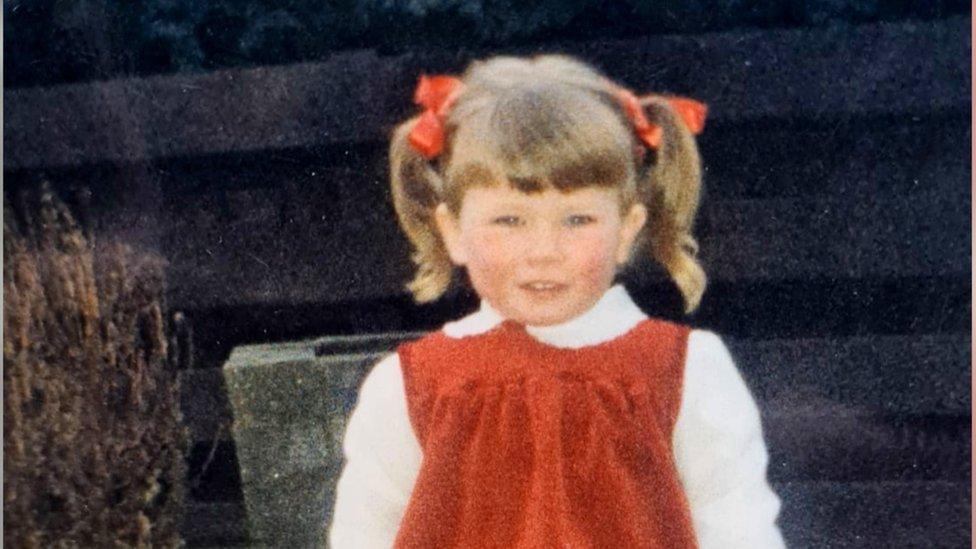 Carol as a child