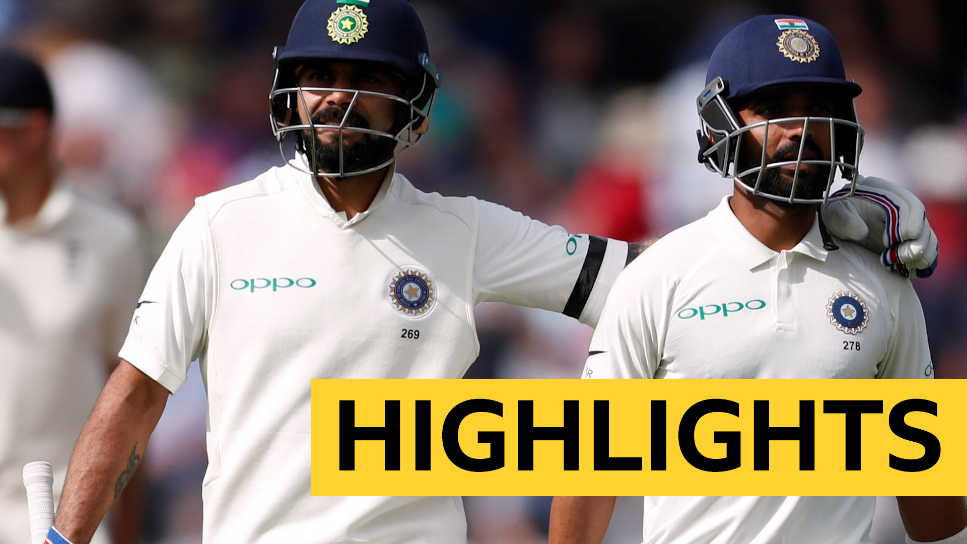 India post 307-6 on first day at Trent Bridge