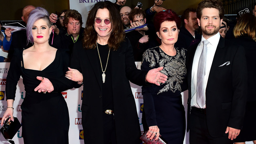 The Osbournes in 2015