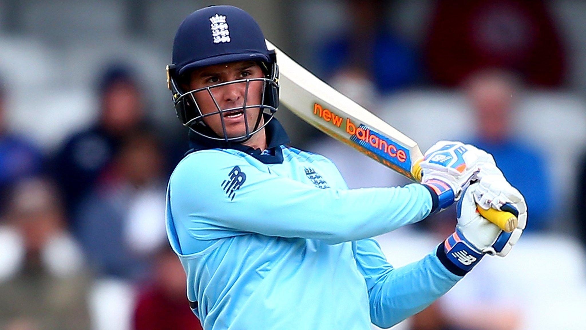England v Afghanistan warm-up: Jason Roy hits 89 in nine-wicket thrashing