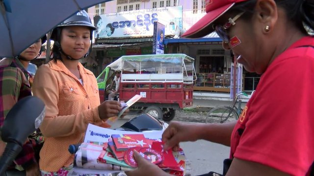 Campaigning in Kachin