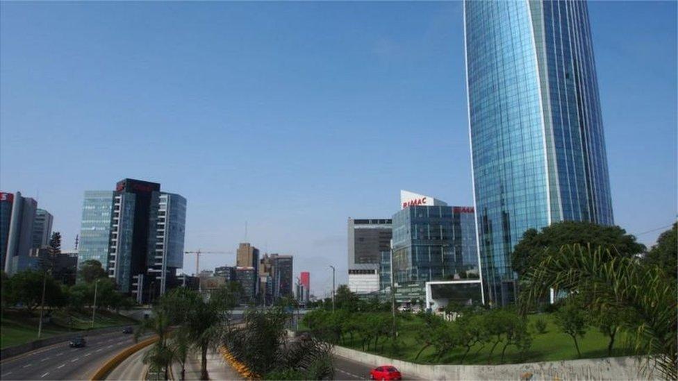 Região central de Lima, no Peru