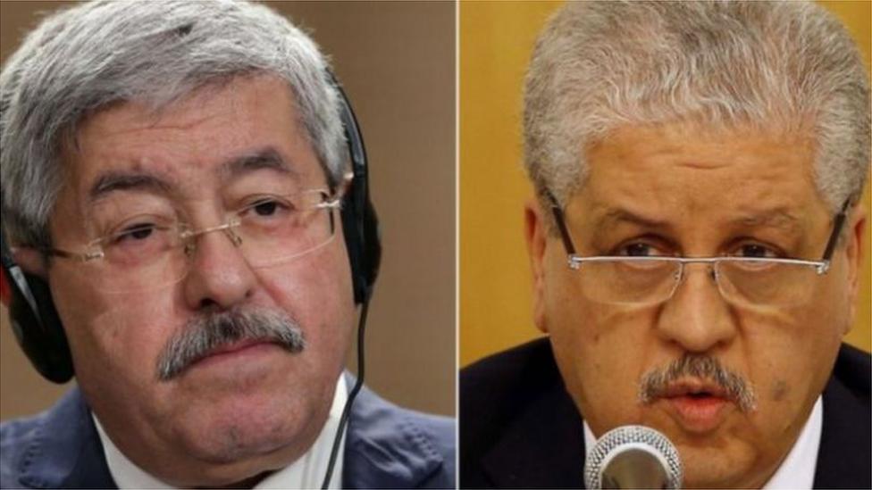 رئيسا الوزراء الجزائريين