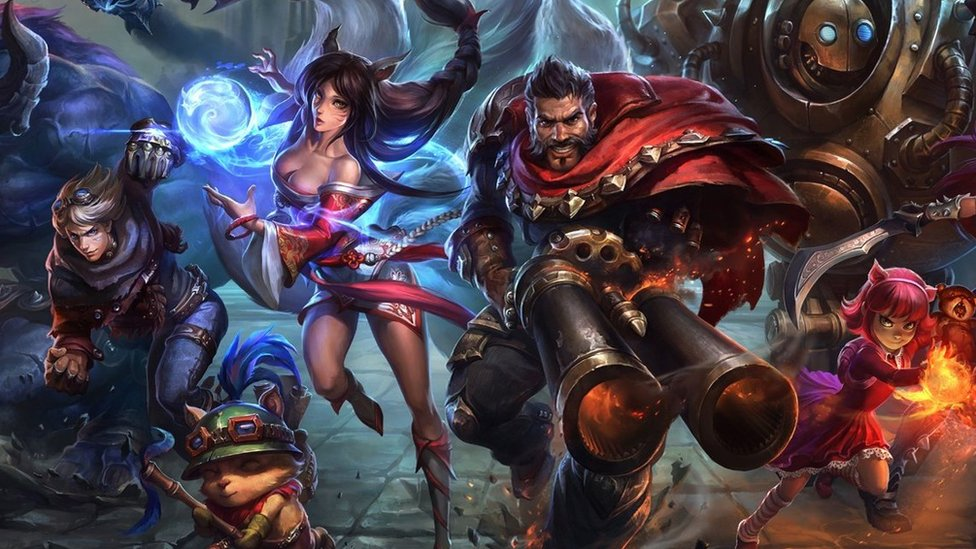 Characters from League of Legends