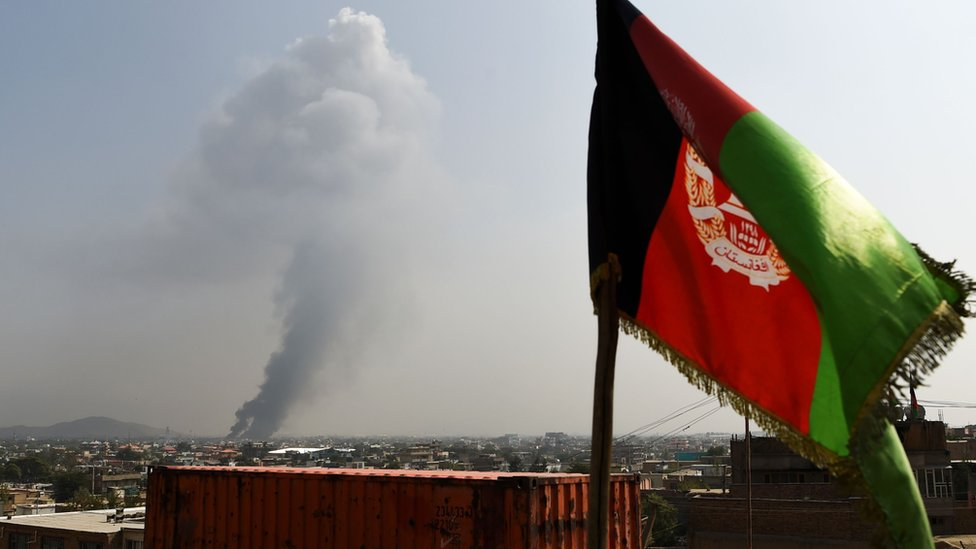 काबुल से उठता धुंआ