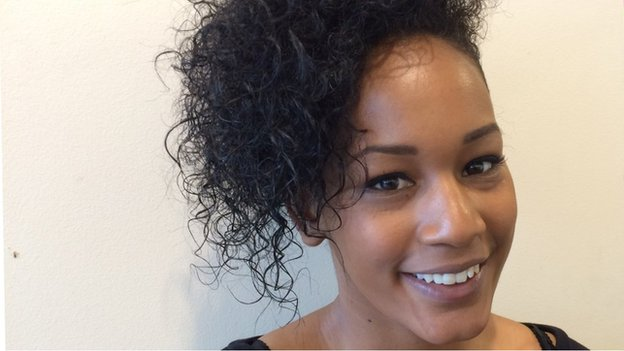 Keesha Simpson recently completed a hairdressing apprenticeship