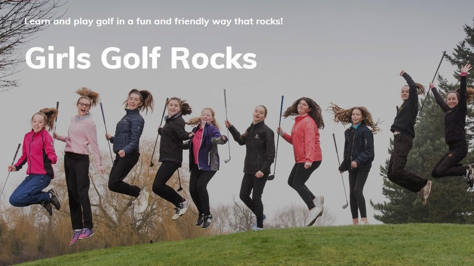 Girls Golf Rocks promo