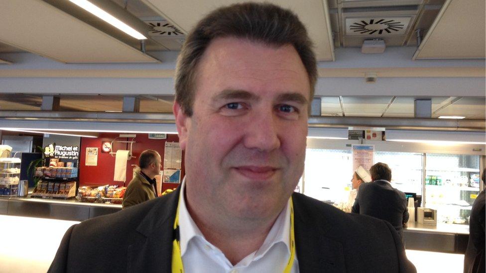 Danish correspondent Ole Vigant Ryborg