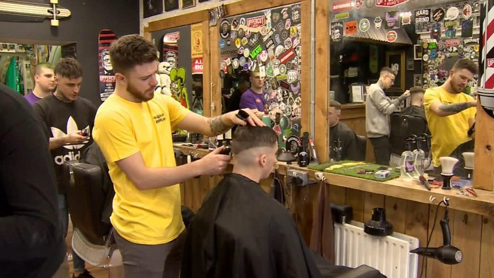 The Londonderry barber shop offering men head space