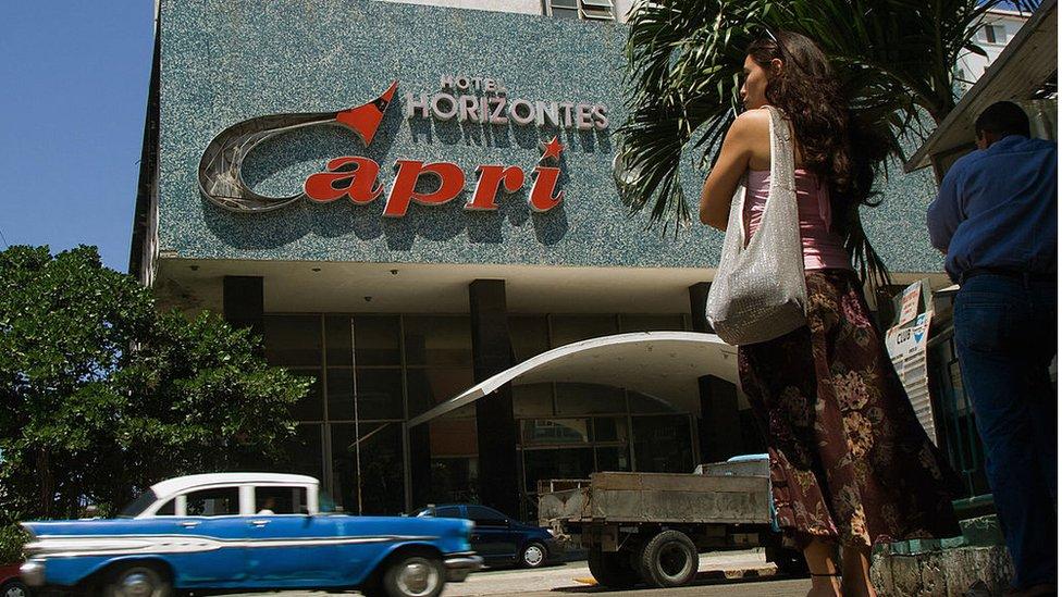 Hotel Capri, La Habana, Cuba